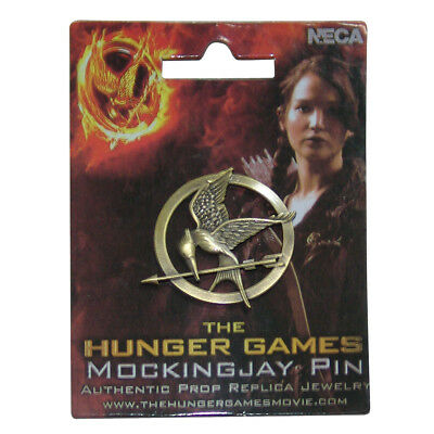 The Hunger Games Pin Replica Mockingjay
