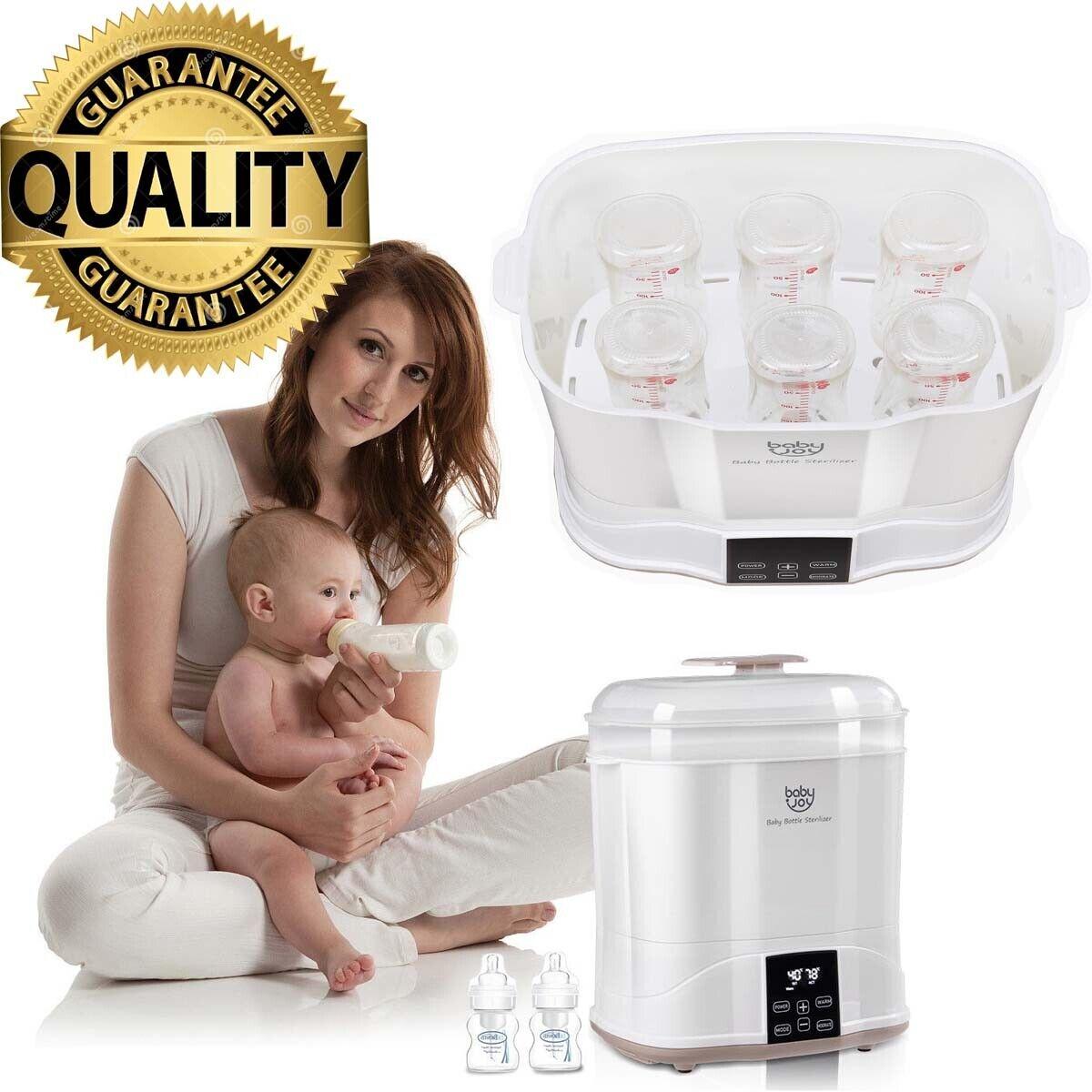 Milk Warmer Baby Bottle Electric Steam Sterilizer Cleaner Dr