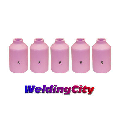 5-pk Tig Welding Ceramic Gas Lens Cup 54n17 5 Torch 171826 Us Seller Fast