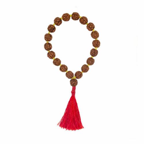 Rudraksha Japa Mala For Yoga Meditation & Blessed Life 18 Beads Energized