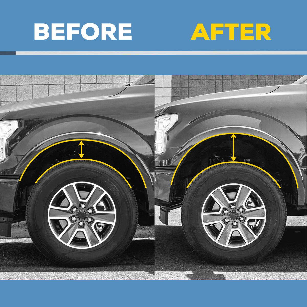 """Used 2010 Ford F150: 2004-2019 For Ford F150 2.5"""" Front Leveling Lift Kit 2004"""