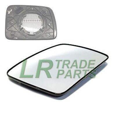 LAND ROVER DISCOVERY 3 NEW FRONT LHS PASSENGER NS HEATED DOOR WING MIRROR GLASS