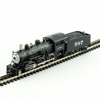 MODEL POWER 876111 N SCALE Santa Fe 2-6-0 Mogul w DCC SOUND  NEW