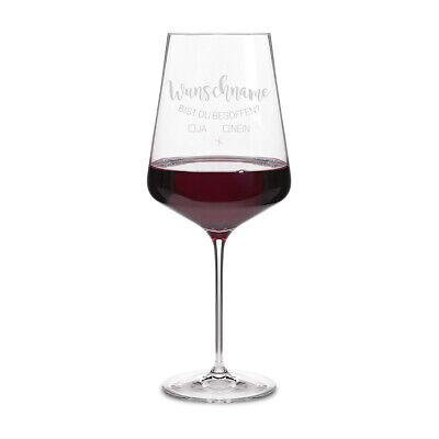 Leonardo Rotweinglas XXL 750ml individuelle Gravur Weinglas - Besoffen