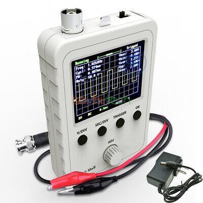 Dso150 Digital Oscilloscope 2.4 Inch Lcd Display Probe Clip Power Supply Kit