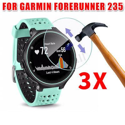 3Pcs Anti-Scratch PET Watch Screen Protector Film For Garmin Forerunner 235