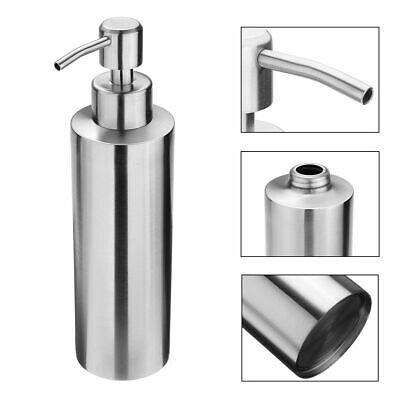 350ml Seifenspender Spülmittel Dosierer Pumpspender für Flüssigseife Edelstahl