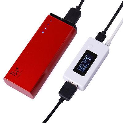 USB Ladegerät Spannung Messer LED Strommessgerät Volt Amp Power Tester Detektor
