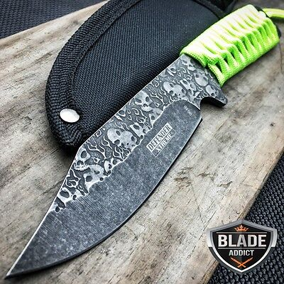 "9"" ZOMBIE FULL TANG Hunting Tactical Camping Survival Knife FIXED BLADE Bowie"