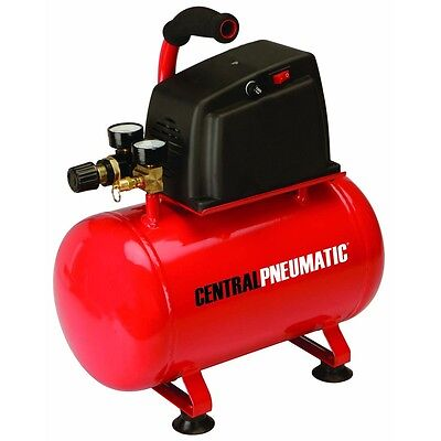 3 Gallon Air Compressor 100PSI 1/3 HP Oilless Electric Portable Maintenance Free