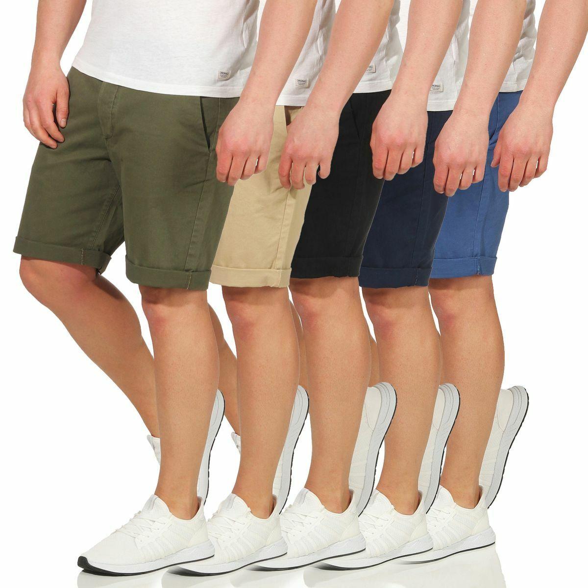 34e3d4457da9f JACK & JONES Herren Shorts Kurze Chinos Hose Short JJIENZO 2019 S M L XL  XXL Neu*