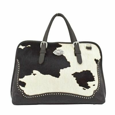 Genuine Leather American West Pendleton Pony  Smart Briefcase American West Leather Briefcase