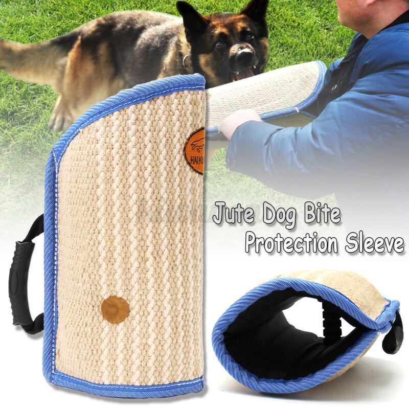 """16.5"""" Jute Dog Bite Protection Arm Sleeve For Training Young Dog Medium Size j"""