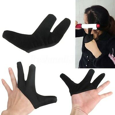 Hair Straightener Straightening Curling Hairdressing Heat Resistant Mitten Glove