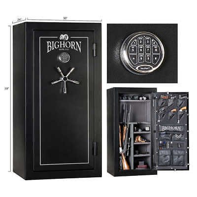 Made in the USA - BIGHORN 24 Cu Ft VAULT GUN SAFE 70 Minute Fire Rating