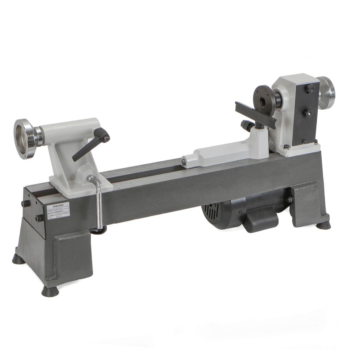Heavy Duty 5 Speed Bench Top Power Turning Wood Lathe