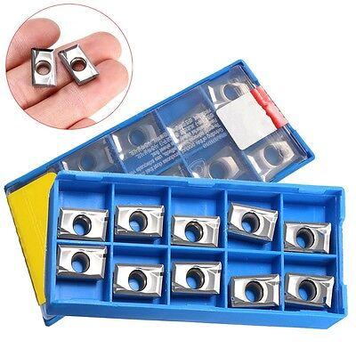 10pcsbox Apkt1604pdfr-ma3 H01 Carbide Insert Blade For Alloy Aluminum Copper Us