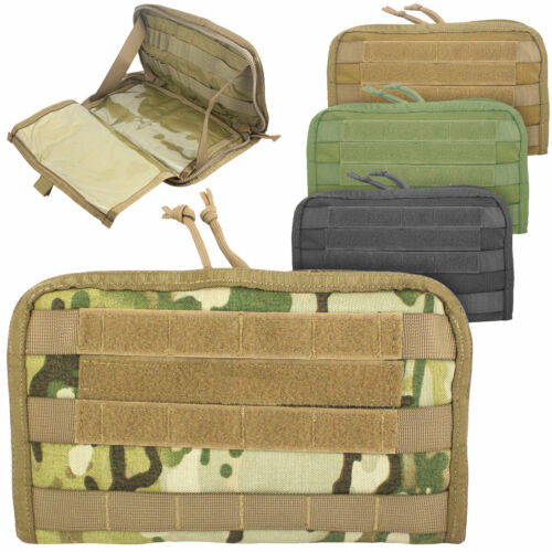 BULLDOG COMMANDER ADMIN PANEL MOLLE Military Tactical Orders Map Holder Pouch