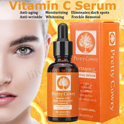 30ml Anti Dark Spots Natural Vitamin C & E Serum Ultra Brightening Spotless Oil