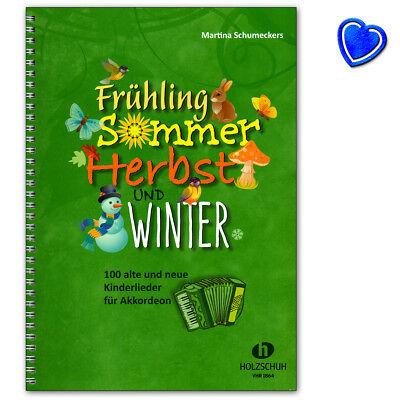 Frühling, Sommer, Herbst und Winter - Liederbuch - VHR1864 - 9783864340994