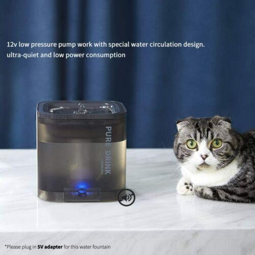 PETKIT Pet Cat Water Fountain Automatic Dog Kitten Drinking Dispenser 1.85L USB - $0.01