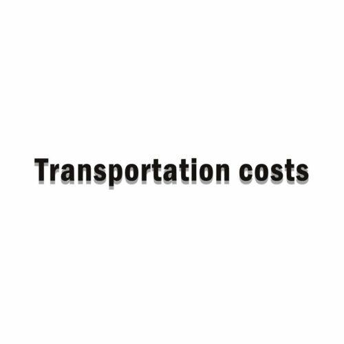 Transportation costs #23