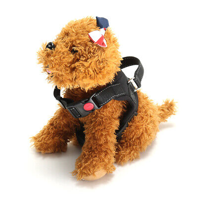 Pet Control Harness Adjustable Dog Cat Soft Mesh Walk Collar Safety Strap Vest M