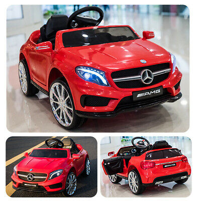 6V Kids Ride On Mercedes Benz Electric Car Licensed MP3 RC Remote Control Red