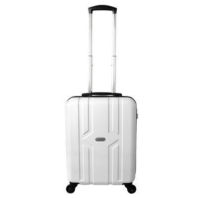 Equipaje de mano rígida con ruedas equipaje de mano 30 litros blanco 821 segunda mano  Embacar hacia Spain