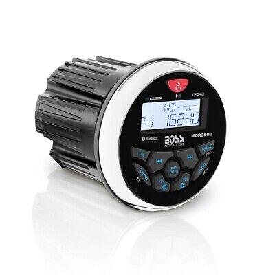 "Boss Audio MGR350B 3"" Gauge Hole Marine Bluetooth MP3 Stereo"
