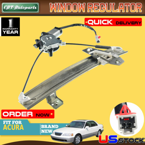 Power Window Regulator w// Motor Driver Rear Side For 98-04 Acura RL 72750SZ3J13