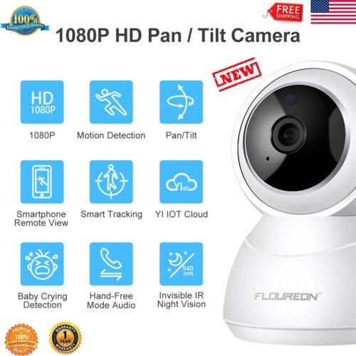 YI Cloud Home Camera 1080P HD Wireless IP Security Camera Pa