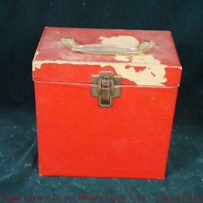 1960s 7 inch record file box