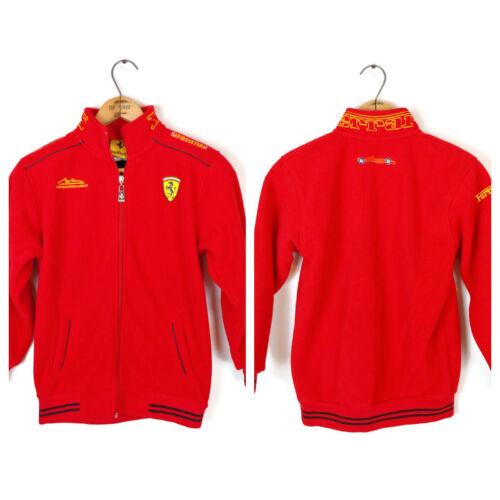 Youth Ferrari Fleece Red Jacket Size YOUTH XL Italian race car car auto NICE