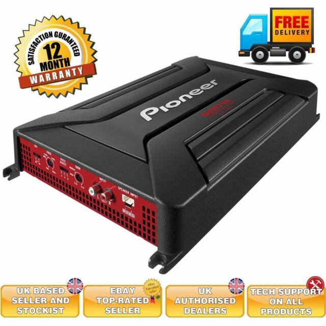 Pioneer GM-A5602 900W 2 Channel car amplifier high level input sub amp