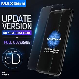 MAXshield 5D Full Coverage Glass Screen Protector