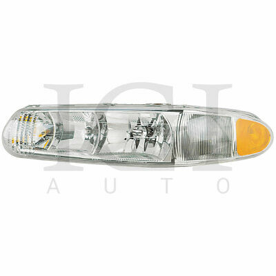 For 1997-2005 Buick Century Left Driver Side Head Lamp Headlight Buick Century Headlight Lamp