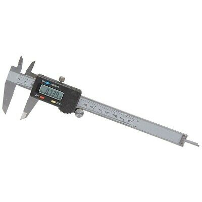 6 In Digital Caliper Sae And Metric Readings With Case