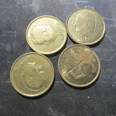 4 x 5 francs 1994 à 1998 Albert II