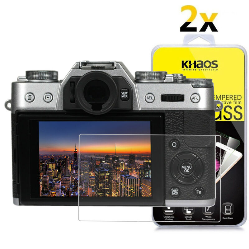 2-Pack Khaos For FujiFilm X-T20 / X-T10 Tempered Glass Screen Protector