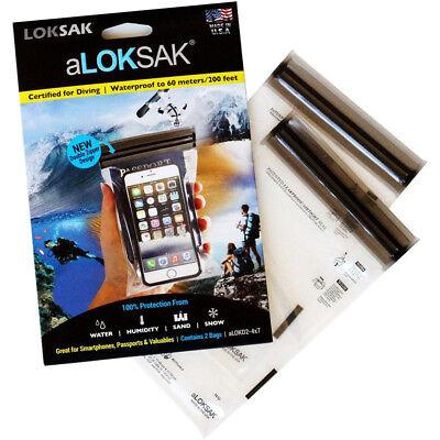 Aloksak Waterproof Bags - Loksak aLoksak Resealable Waterproof Storage Bags (2 Pack) - 4