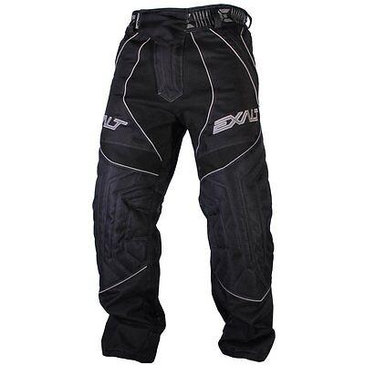 Exalt Thrasher T4 Paintball Pants Black Gray Grey 4 NEW Free Shipping Large L