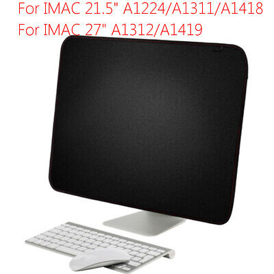 PU Computer Screen Cover Sleeve Dust Cover Protective Dust For iMac 21.5''