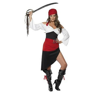Sassy Pirate Wench Costume Halloween Fancy Dress