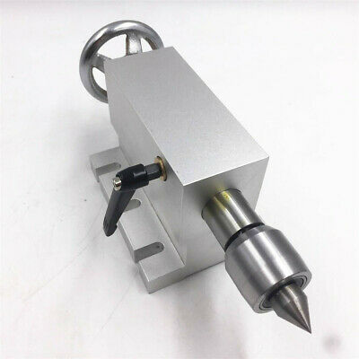 65mm Live Center Tailstock Mt2 For Cnc Router Rotary Axisus Stock Free Shipping