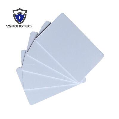Druckbare Karten (Leere PVC druckbare Karte für Foto ID oder Inkjet Printer 10 Stück)