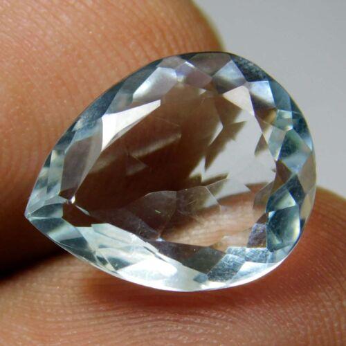 GIE Certified 6.00 Ct AAA Natural Transparent Bluenish Aquamarine Gemstone 870