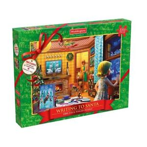 Waddingtons Limited Edition 1000 Piece Adult Christmas Jigsaw Puzzle & Coin