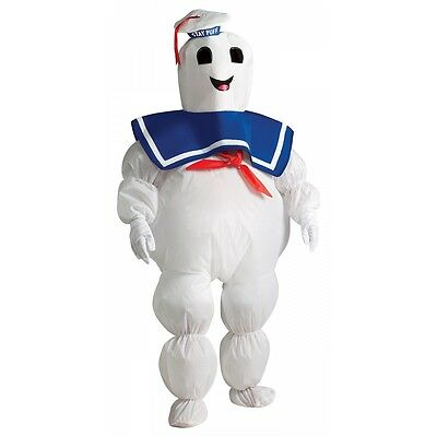Stay Puft Marshmallow Man Costume Kids Inflatable Ghostbusters - Kids Ghostbusters Halloween Costume
