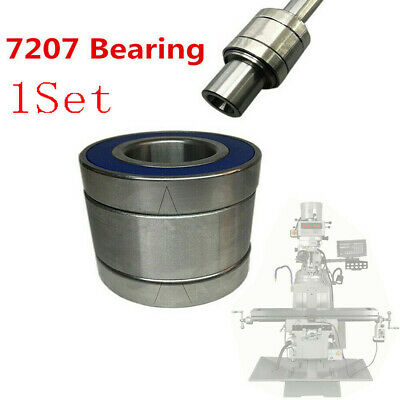Milling Machine R8 Spindle 7207 Bearing Cnc Vertical Mill Part For Bridgeport